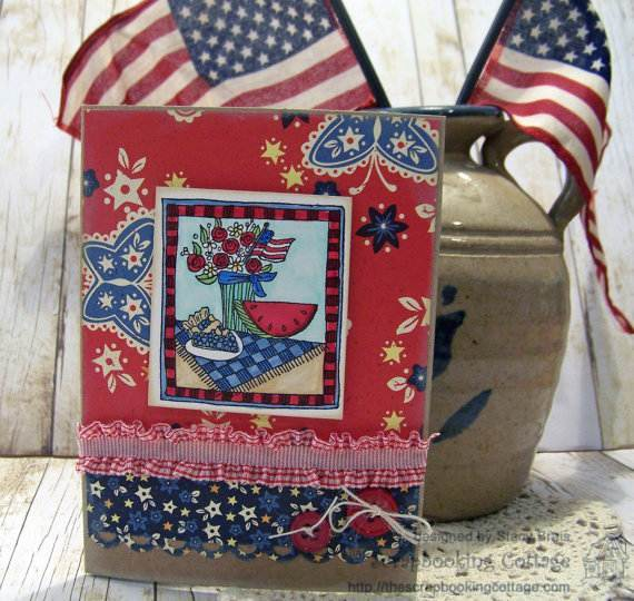 4th of July Greetings Card
