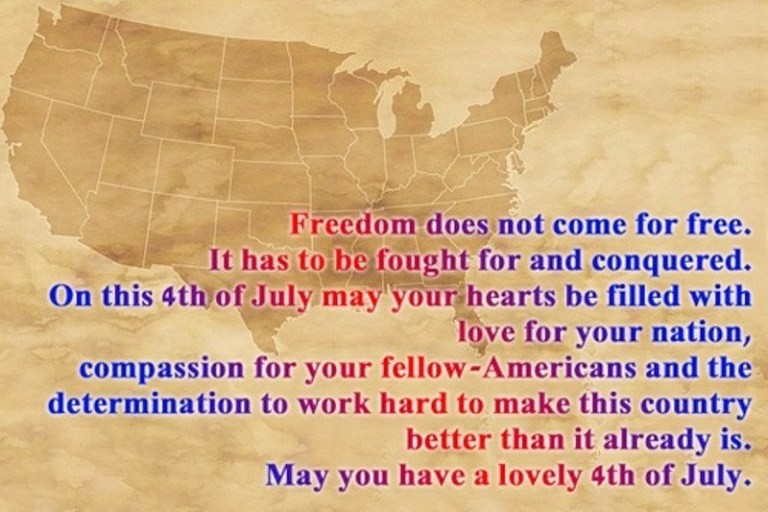 Happy 4th of July Messages For Facebook