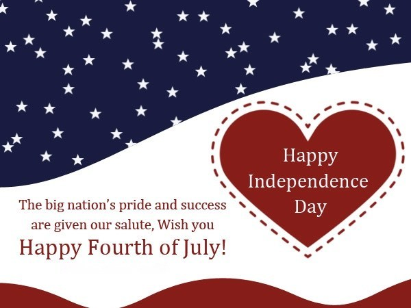 Happy 4th Of July Messages 2019 | USA Independence Day ...