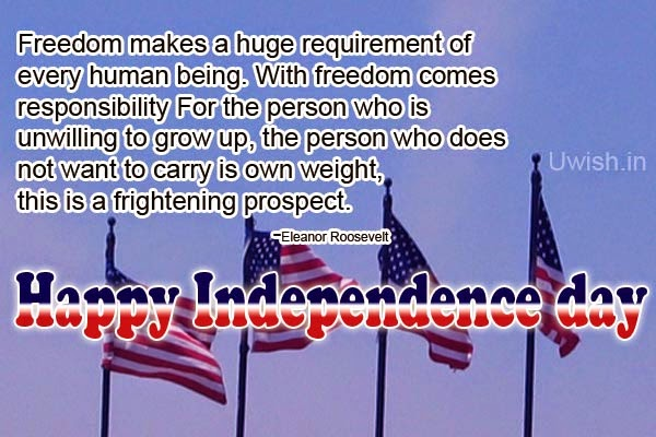 4th July wishes