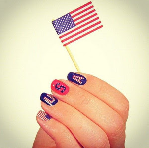 4th fourth of July nail designs