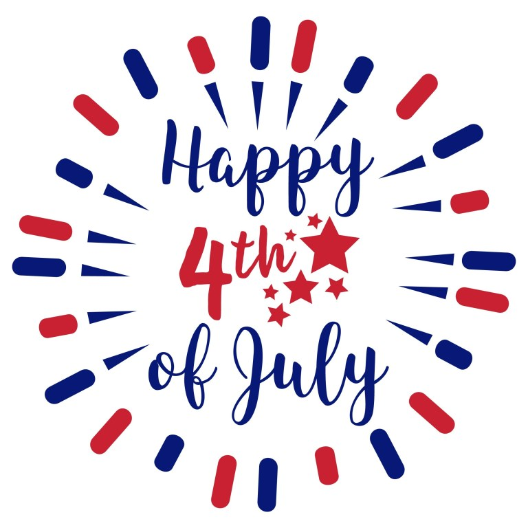 4th of July Animated Clipart