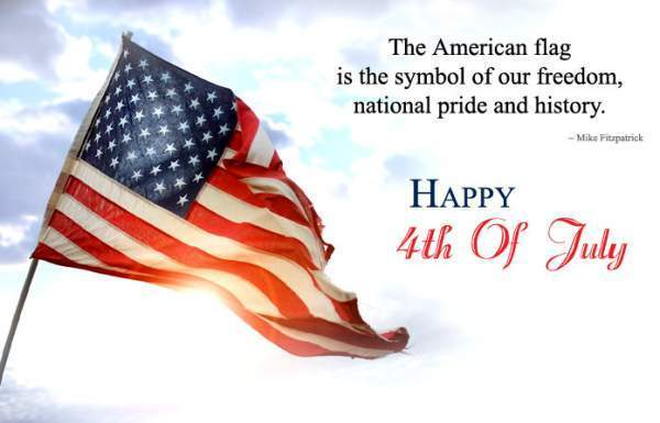 4th of July Flag WhatsApp DP Images