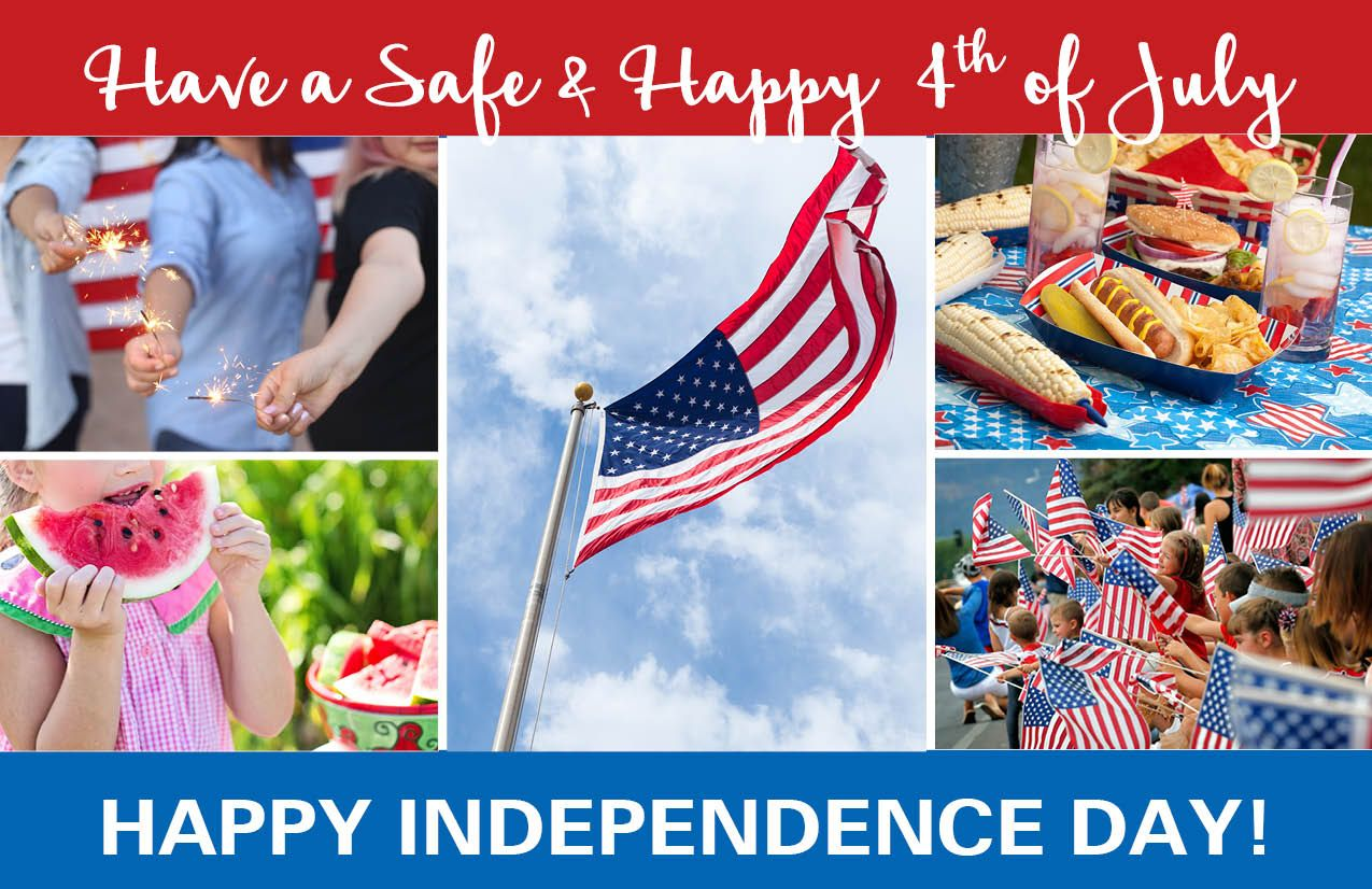 4th of July Greeting Card Photos