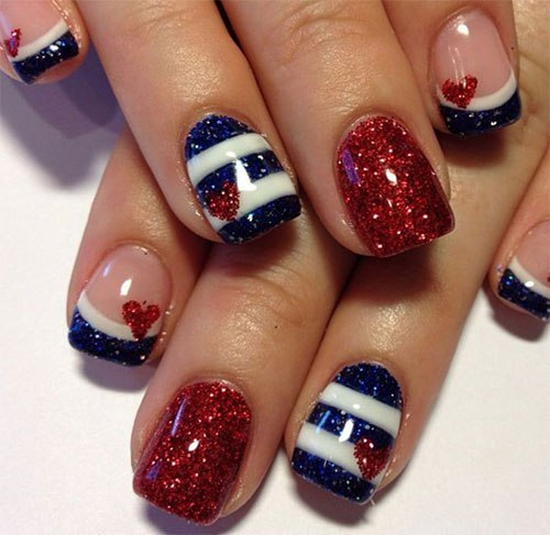 4th of July nails Images