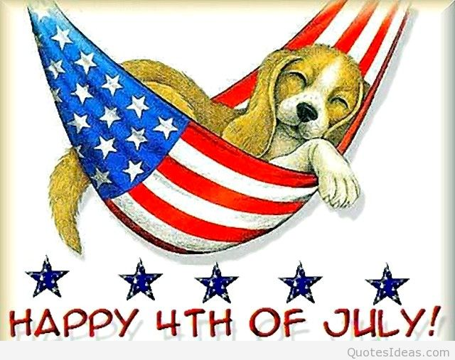 Funny 4th of July Cartoon Images