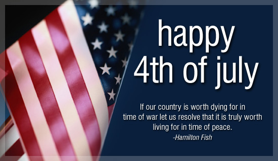 Happy 4th July Wishes Messages