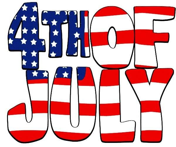 Happy 4th of July Clipart