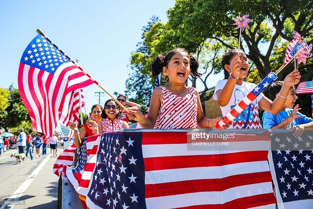 Happy 4th of July Flag Images