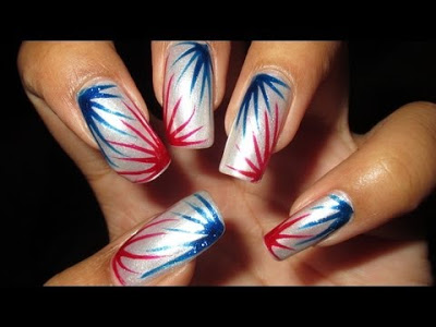Happy 4th of July nails ideas