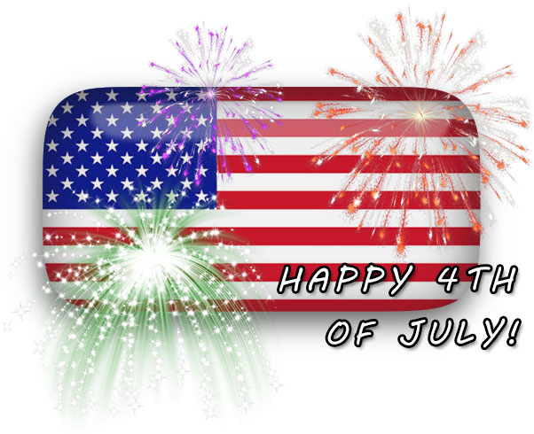 Happy Fourth of July Animated Images