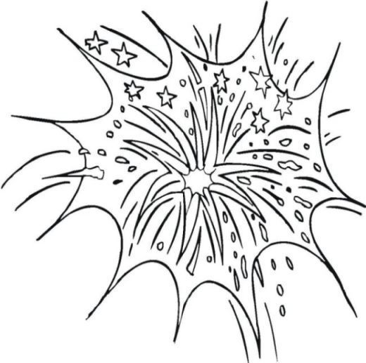 coloring pages 4th of July 2019