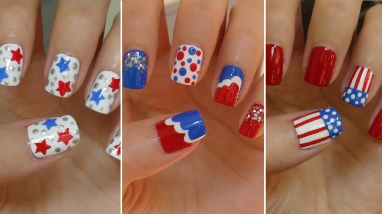 nail designs for 4th of July