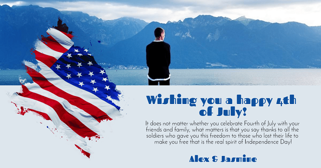 Happy Fourth of July Messages For Family